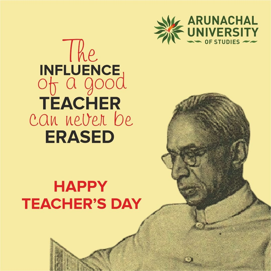 To all our amazing teacher, Wishing you joy and happiness on the occasion of Teachers' Day!